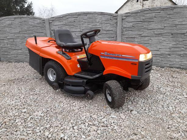 Kosiarka traktorek husqvarna cth200#briggs v-twin 20hp#pompa oleju