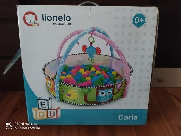 Sprzedam Lionelo Carla z torbą piłeczek i zabawkami