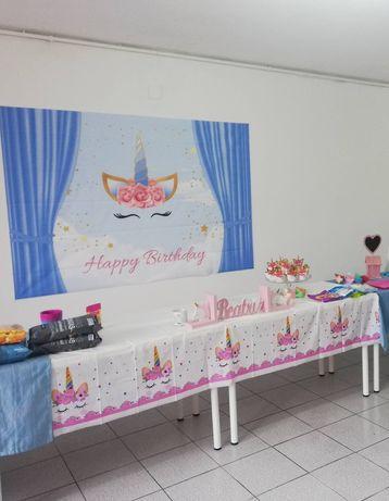 Kit decoração de festa do unicórnio