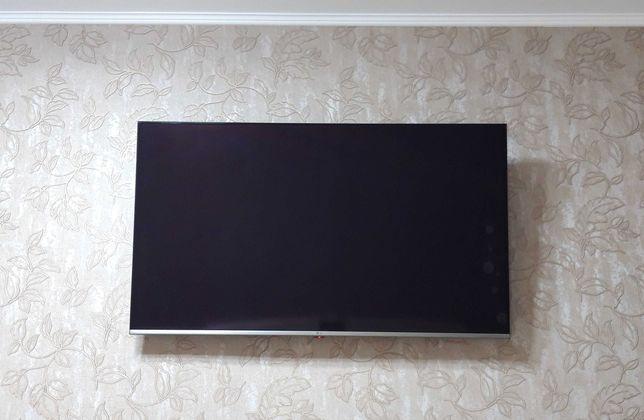 Телевизор с разбитой матрицей LG 55UM7610PLB