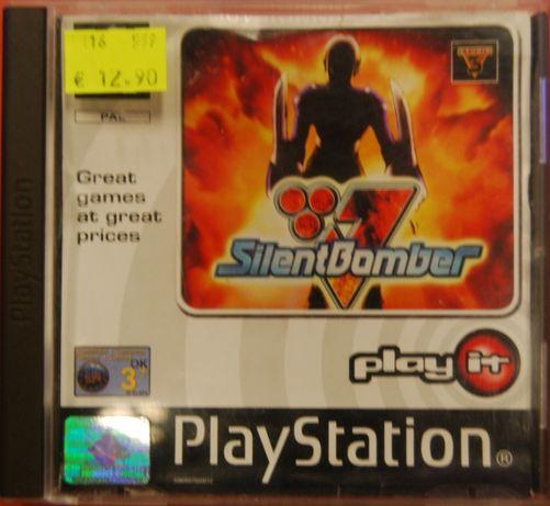 Jogo Ps1 Silent Bomber