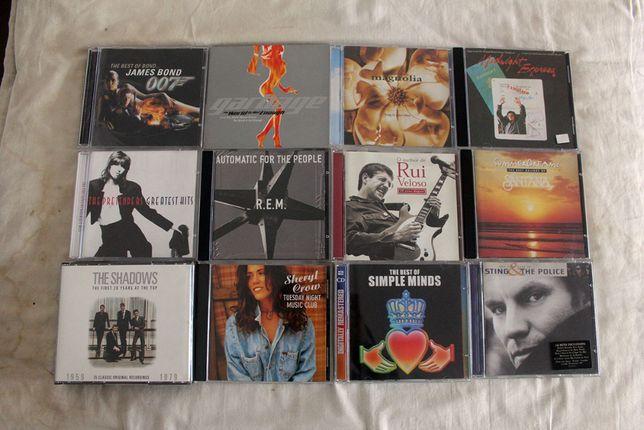 CD's de música (Conjunto ou em separado)