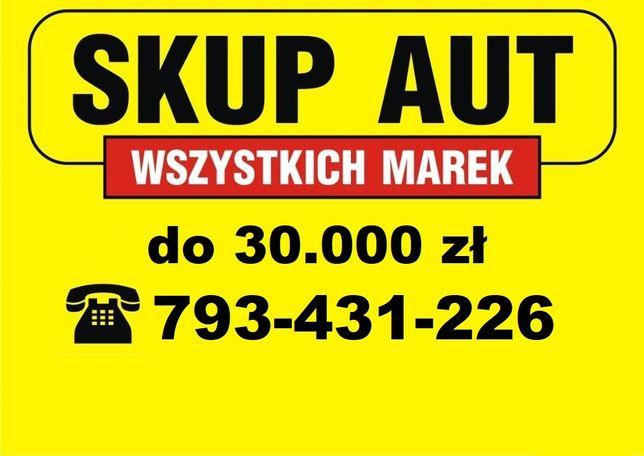 SKUP AUT * Jeszcze Dziś Kupimy Twoje Auto *LEPSZE CENY od KONKURENCJI