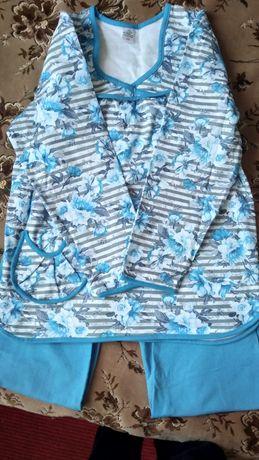 Новая пижама трикотаж на байке