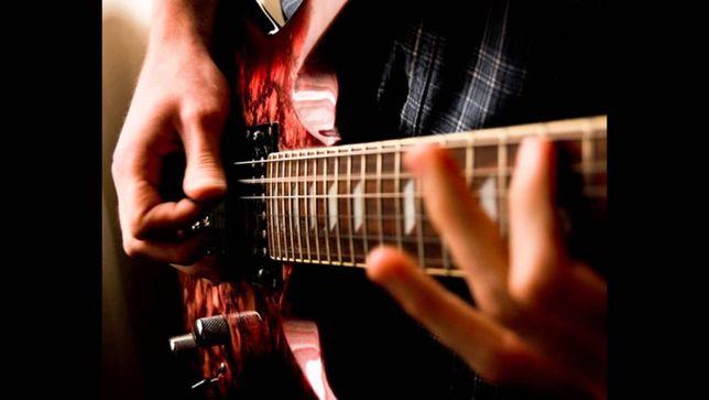 Уроки игры на гитаре, электрогитаре, бас гитаре.