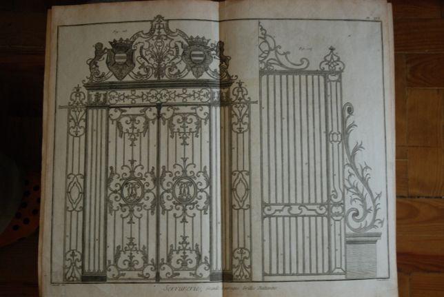 Estampas de arquitectura (antigas)