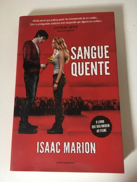 Livro - 'Sangue Quente' de Isaac Marion