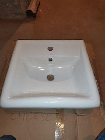 Nowa umywalka Cersanit 50x47cm na szafkę 40x40