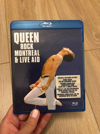 Queen Rock Montreal &Live Aid Blu Ray