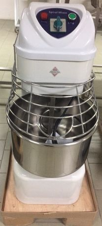 Amassadeira espiral nova, máquina padaria pastelaria massas pão