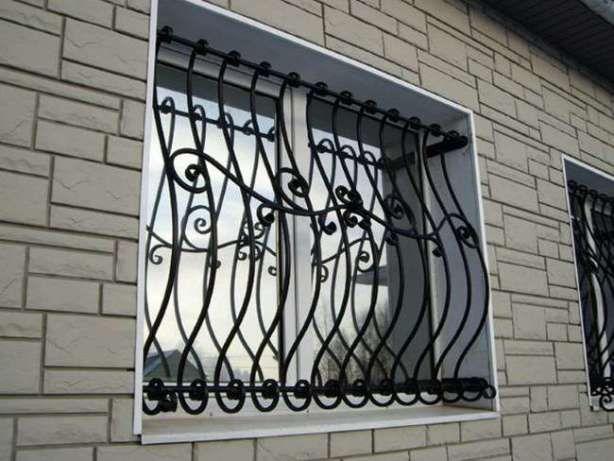 Решетки на окна, балкон, двери. Ковка. Металлоизделия. Монтаж.Доставка