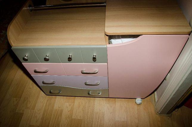 Комод. Детская корпусная мебель Наутилус