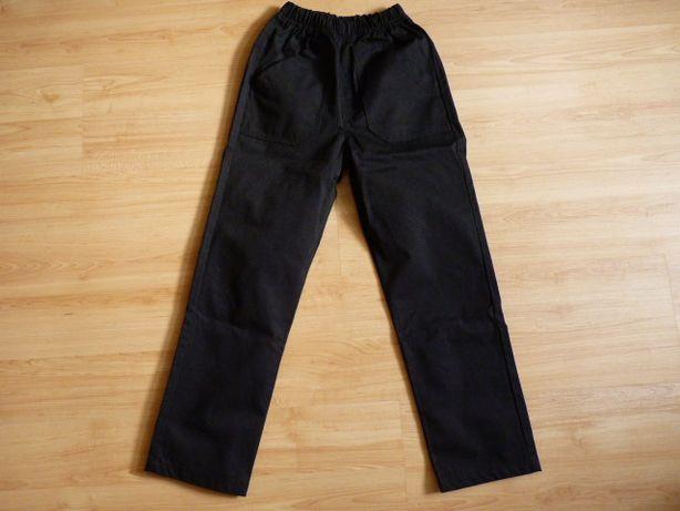 spodnie na gumie 128 szkoła przedszkole akademia