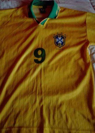 Camisola Selecção Brasil Ronaldo