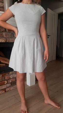 Sukienka blękitna XS  14-16 lat Orsay