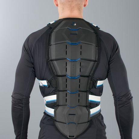 Ochraniacz pleców Revit Tryonic B.Protector See+ czarno-niebieski -now