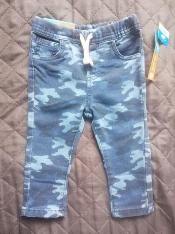 Nowe spodnie, jeansy. Rozmiar 80