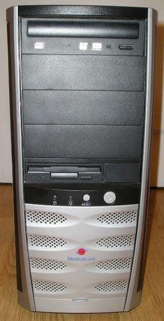 Komputer stacjonarny ,glosniki, drukarka, klawiatura, myszka