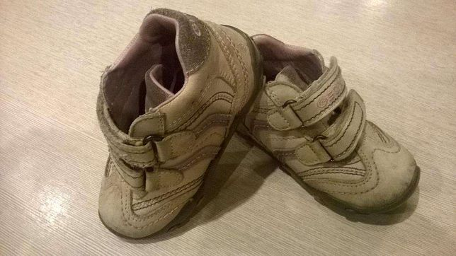 buty dziecięce GEOX, buciki dziewczęce skórzane rozmiar 20