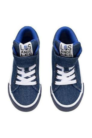 Джинсовые кроссовки / высокие кеды / хайтопы h&m стелька 17 см