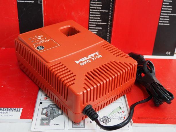 HILTI SFC 7/18 ladowarka do bateria 9,6v,12v,15,6v 18v NI-CD, NI-MH