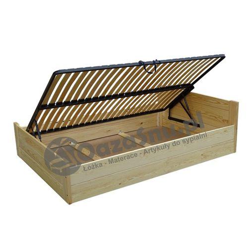 LOFT 160x200 łóżko ze skrzynią otwierane z boku dowolny wymiar