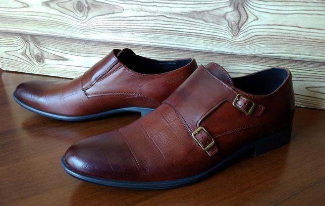 Продам кожаные мужские туфли Tapi.
