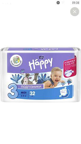 Продам памперсы Happy