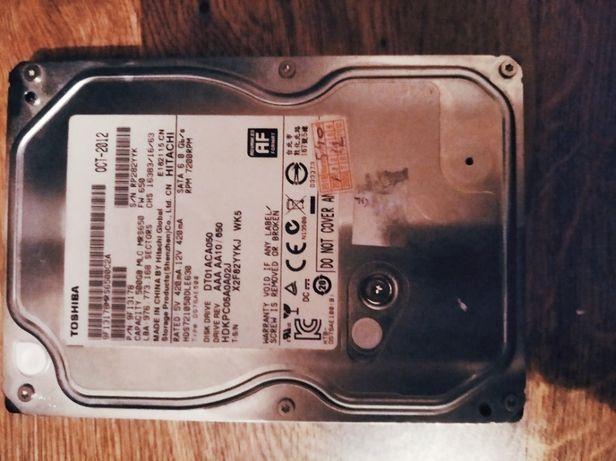 Винчестер hdd Toshiba 500 GB (SATA 6.0GB/s) для пк