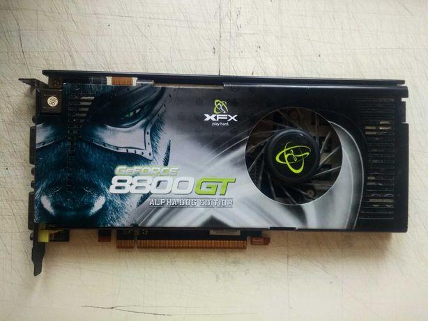 Видеокарта XFX Nvidia GeForce 8800GT 512Mb нерабочая