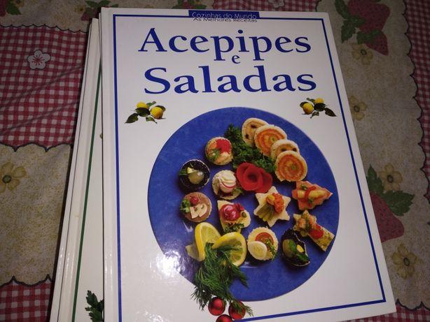 Coleção culinária 15 livros