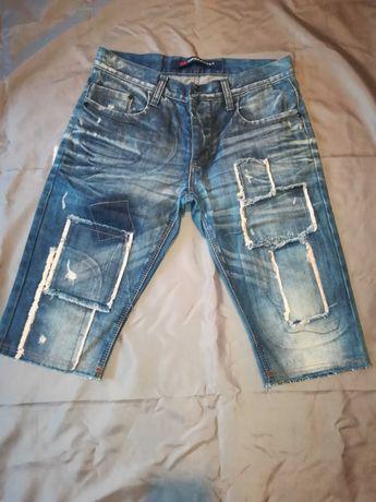 Spodenki jeansowe męskie CIPO & BAXX