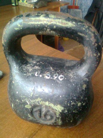 Гиря 16 кг пр-во СССР