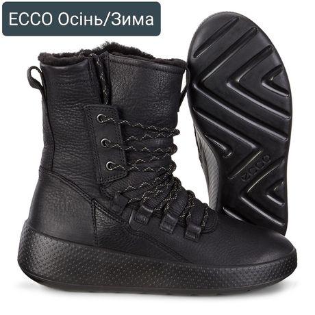 36,37,38,39,40,41р Новые зимние женские сапоги ECCO UKIUK 221053 Ориги