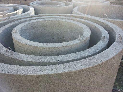 Кольцо кольца железобетонное канализационное колодязное плита крышка