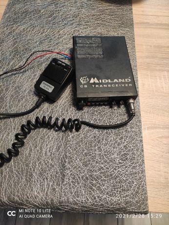 CB Alan 78 z mikrofonem(echo+wzmocnienie)
