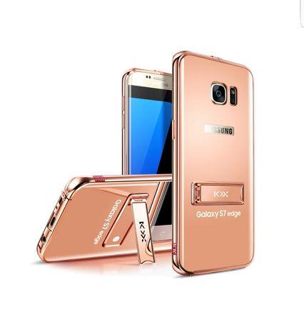 Etui obudowa telefonu Samsung Galaxy S7 edge efekt lustra