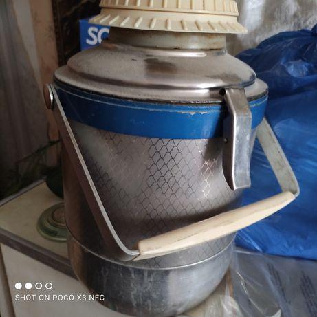 Металлический термос, фабричный