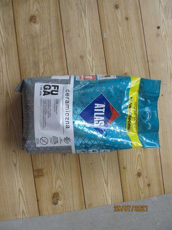 Fuga ceramiczna Atlas 202 popielata 1-20 mm 5 kg nowa - 50% ceny