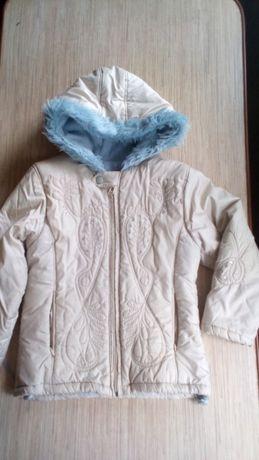 куртка для девочки деми,Coccobello(Польша),рост 116