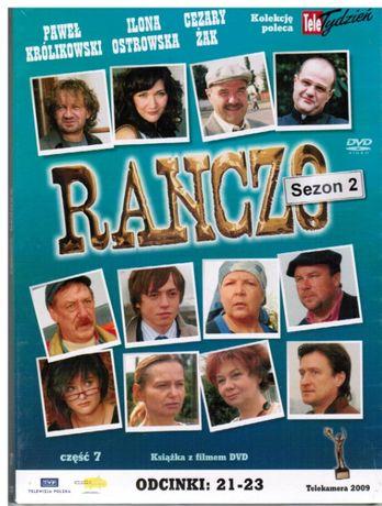 dvd RANCZO serial,tom 7kolekcji,sezon 2,odcinki:21-23,nowe,zafoliowane