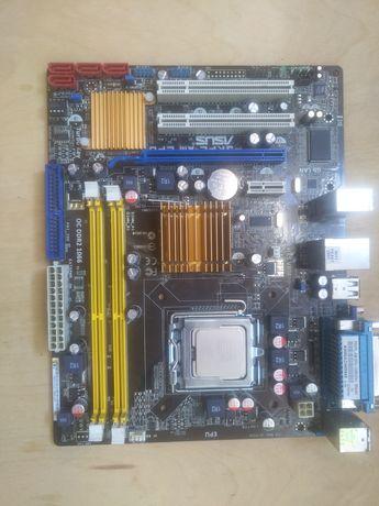 Материнська плата Asus p5k Intel