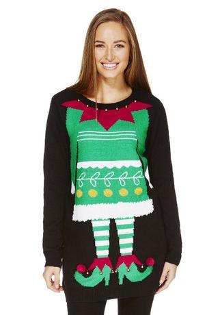 Рождественский \ новогодний свитер джемпер F&F