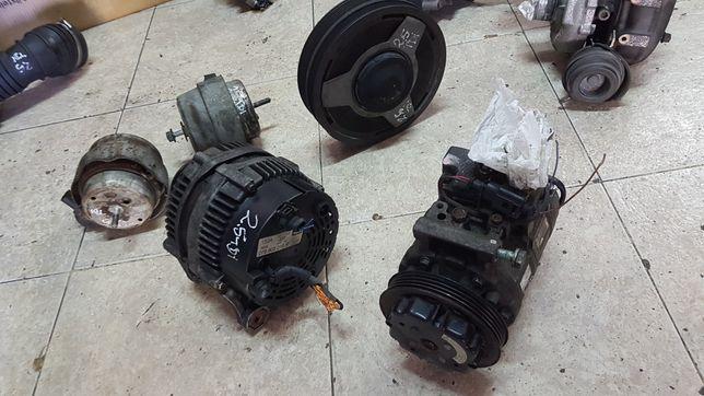 Audi a4 2.5 tdi poli polie da cambota alternador compressor ac apoio