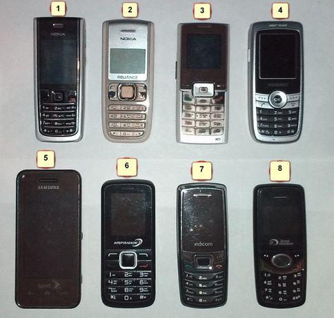Телефоны CDMA формата, под RUIM CDMA симки и безсимочные