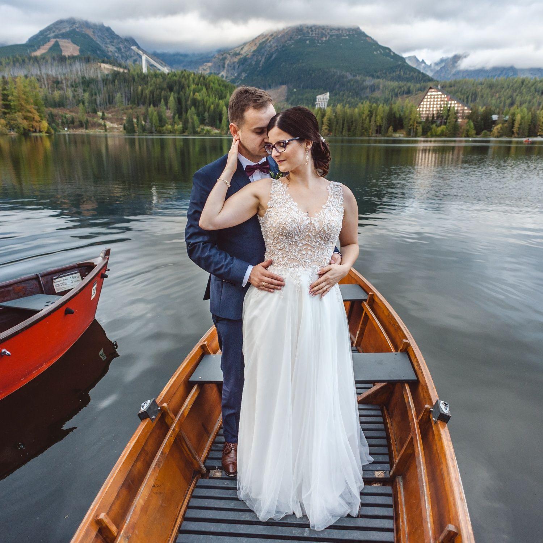 Suknia ślubna śmietankowa rozmiar 38 tren+welon gratis