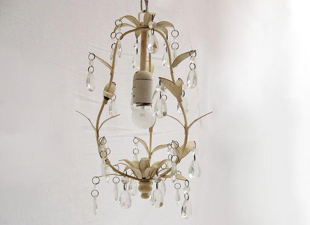 ~* Lampa wisząca * kryształki *~