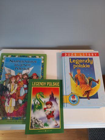 Legendy polskie - cudne dwie książki dla dzieci