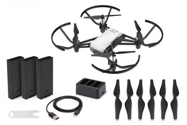 Dron DJI Ryze Tello Boost + 3x akumulator + HUB   SKLEP FLYSTORE.PL
