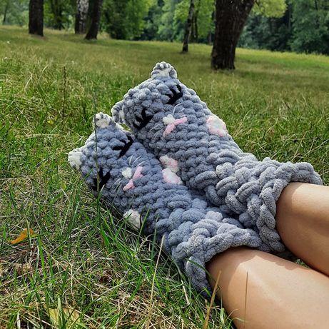 """Домашние носки """"Котики"""""""
